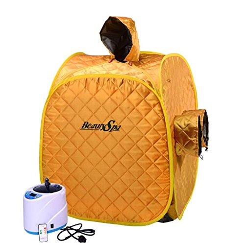 YUGANG Sauna Box/Famiglia sauna di vapore Box/Casa Khan Bagno turco/fumigazione macchina Khan Steam Box/Folding Sauna sudorazione (Colore : 2#)