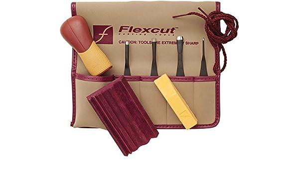 New Flexcut Deluxe Starter Carving Set FLEXSK108