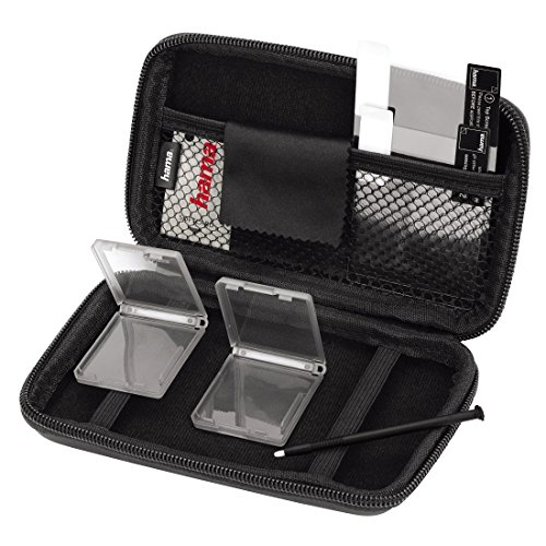 Hama 8 in 1-Zubehör-Set für Nintendo New 3DS (inkl. Tasche, Schutzfolien, Stift, Game Cases u.v.m.) schwarz (Sammlung-media-konsole)