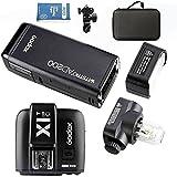 Godox AD200 Nuevo 2.4G TTL Bolsillo Flash 200Ws TTL HSS 1 / 8000s Flash Con 2900mAh Litio Batería+X1T-C Tranmisor +AD-E holde+Portátil Flash Bolsa Para Canon Cámara