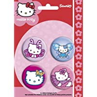 [Import Anglais]Hello Kitty Butterfly Badge Pack