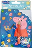 PEPPA PIG SCRIBBLE SET-SCRIBBLE PAD, PENCIL AND ERASER SET
