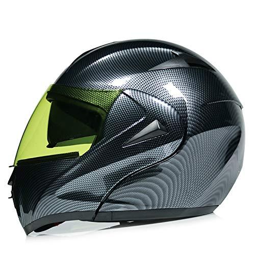 Berrd Motociclo elettrico Bluetooth casco maschio mezzo casco doppio obiettivo casco completo corsa casco in fibra di carbonio modello stradacasco moto modulare
