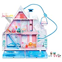 L.O.L. Surprise! Winter Disco Chalet Doll House with 95+ Surprises and Exclusive Family