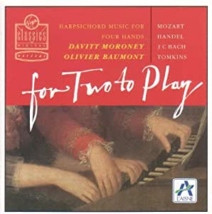 For Two to Play: Harpsichord Music for Two Hands. By Olivier Baumont ,,Davitt Moroney (1994-03-15)