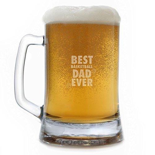 Bierkrug Best Basketball Dad Ever Wine Taster Gläser für Herren Deko-Weinglas Bierglas Wein Geschenke