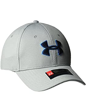 Under Armour Blitzing Ii Gorra, Hombre, Gris, XL/XXL