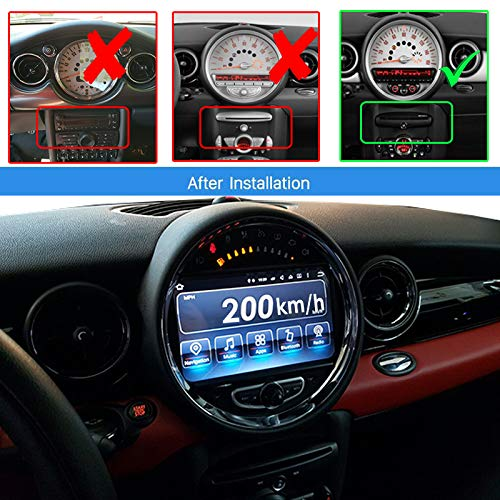 REALMEDIA Mini Cooper Countryman Roadster Android Autoradio GPS NAVI DVD Bluetooth SD USB+++REALMEDIASHOP Garantie+++ (Navigation Dvd Cooper Mini)