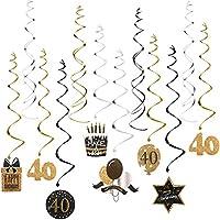 Unomor 40th fiesta de cumpleaños Decoración