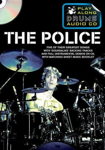 Police Play Along Drums Audio CD (Format Boitier DVD)