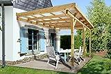 weka Holzbau GmbH Weka Terrassen-Überdachung Gr. 4