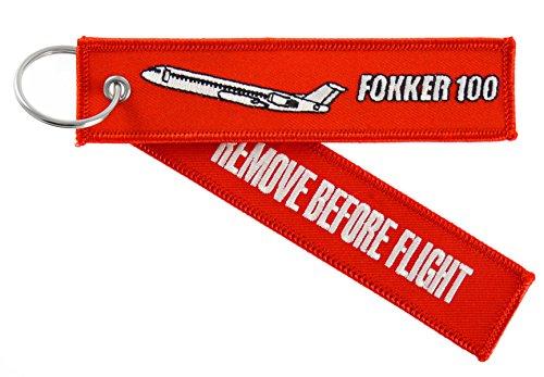 porte-cles-remove-before-flight-fokker-100