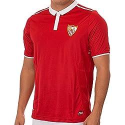 Camiseta de equipación del C.F. Sevilla, color rojo, hombre, rojo, medium