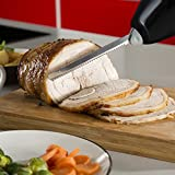 from Tower Tower T19003 Electric Knife, 180 W, Black/Stainless Steel Model T19003