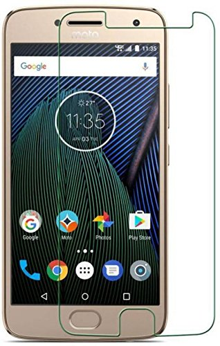 HYCOT + Moto G5 PLUS - QuaGlass 2.5D Curve Tempered Glass Screen Protector