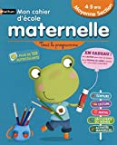CAHIER ECOLE MATERNELLE MS 4-5