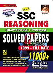 Kiran SSC Reasoning Chapterwise and Typewise Solved Papers 1999-Till Date 11000+ Objective Questions(English M