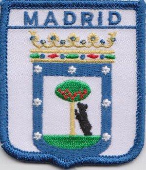 Madrid bandera España parche escudo Real Mallorca