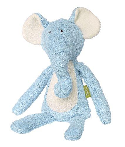 d Jungen, Stofftier, Elefant, Blau, sigikid-Green, 38774 (Blau Elefant Stofftier)