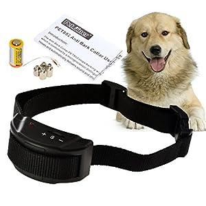 Annong@ dernière version collier animal de dressage pour chiens contrôle automatique choc électrique anti aboiement cesse d'aboyer pet formateur
