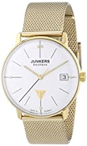 Junkers Damen-Armbanduhr XS Bauhaus Analog Quarz Edelstahl 6075M4