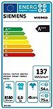 Siemens WM14N020 iQ300 Waschmaschine FL/A+++/137 kWh/Jahr/1400 UpM/6 kg/Metallverschlusshaken/weiß