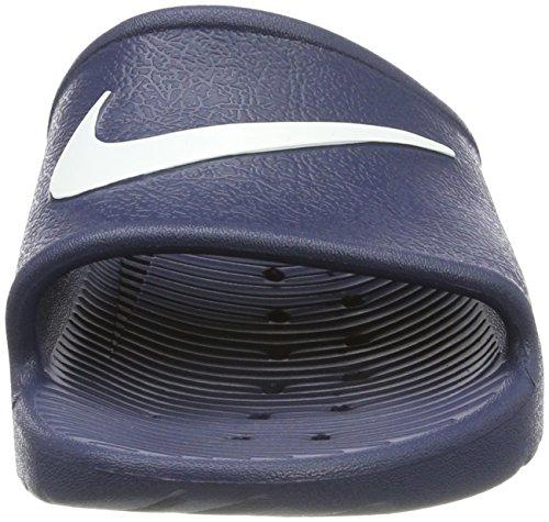 Nike Kawa Doccia Per Uomini E Scarpe Da Bagno Blu (mezzanotte Navywhite 400)