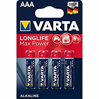 Varta Long Life 4703 Max Tech Batterien, AAA, 4er-Blister