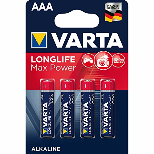 Varta Long Life 4703 Max Tech Batterien, AAA, 4er-Blister