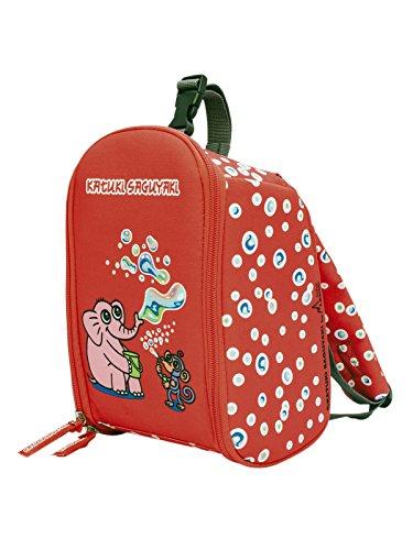 Katuki Saguyaki Mochila Infantil Roja Térmica Desplegable y de fácil limpieza
