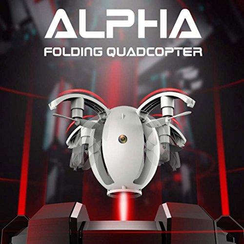 QUINTRA 2.4GHZ 4CH 6-Achsen Kreisel Quadcopter Kai Deng K130 Faltende Transformable Ei Drone