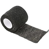 Vendajes Autoadhesivo Adhesivos Venda Adhesiva Cinta Flexible Vendaje No Tejido Elástico Deportivo Del Abrigo Deporte - Negro, 5 * 450 cm