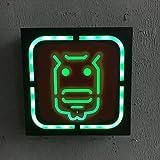 HEMIYUAN Luce notturnaWIFI bagno VIP indicatore non fumatori insegna al neon tubo al neon in vetro negozio bar famiglia business party LED insegna al neon luce, G