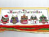 Christmas Owls kit punto croce
