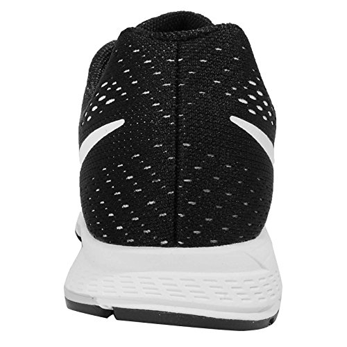 Nike Zoom Pegasus 32 (gs), Unisex-Kinder Outdoor Fitnessschuhe Negro / Blanco / Gris (Black / White-Dark Grey-Pr Pltnm)