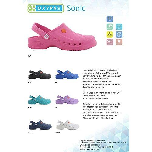 Oxypas Sonic Unisex Arbeits- und Sicherheitsschuhe ESD SRC Weiß