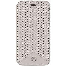 Mercedes-Benz Biblioteca Cuero Perforado Gray Line Puro Para G920 Galaxy S6 Meflbks6Pegr, Bliste