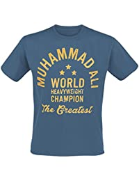 Muhammad Ali World Heavyweight Champion T-shirt gris