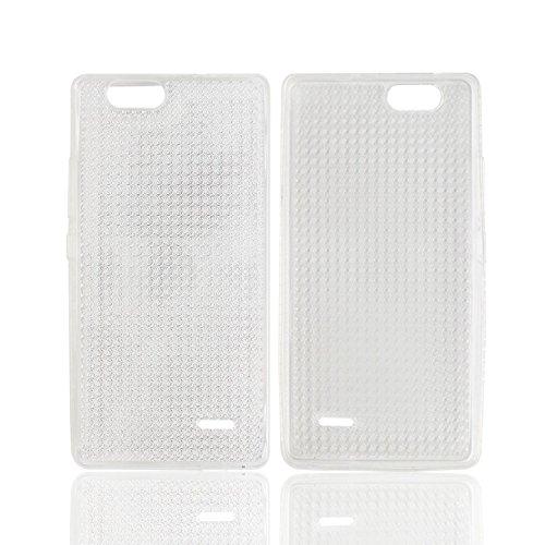 Owbb Hülle für Oukitel C4 Crystal Soft TPU Silikon Ultra Dünn Softcase Schutzhülle Bumper Case mit Kratzfeste Function Backcover Design - Transparent