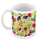 Snoogg Multiple Fruits Designer Cool Stylish Coffee Mugs