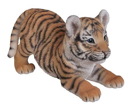 Vivid Arts Bébé-Tigre Joueur, Ornement en Résine