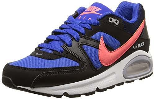 Nike Air Max Command (Gs), Derby homme Game Royal/Hot Lava-Black-Wolf Grey