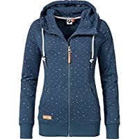 Ragwear Damen Jacke Sweatjacke Übergangsjacke Chelsea Zip 17 Farben XS-XL