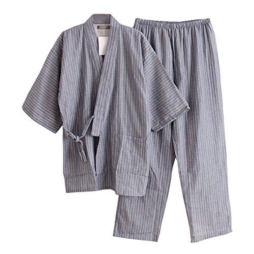 Trajes Estilo japonés Hombre Trajes Pijamas Kimono