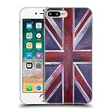 Offizielle Magdalena Hristova Gemalt Union Jack Soft Gel Hülle für Apple iPhone 7 Plus