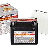 Panther AGM YTX12-BS - 12 V / 10 Ah - 51012 CTX12-BS Motorradbatterie Quad Batterie