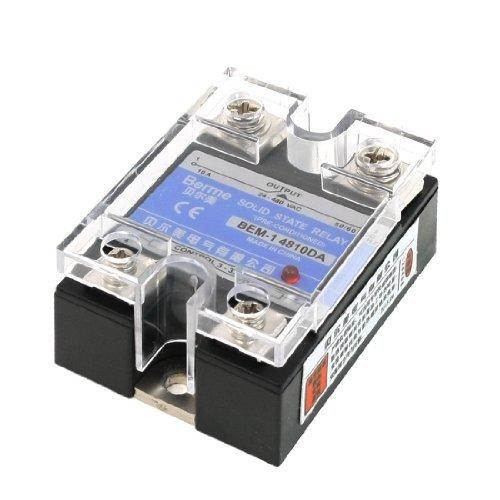 DC-AC Single Phase Halfgeleiderrelais 10A 24-480VAC 3-32VDC -