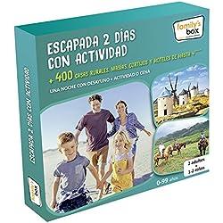 "COFRE DE EXPERIENCIAS ""ESCAPADA 2 DÍAS CON ACTIVIDAD"" - Más de 400 escapadas con actividad o cena en España"