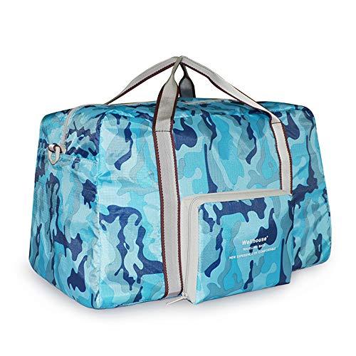 Lixada Sac de Voyage Léger Pliable de Voyage Fourre-Tout Carry on Bag Bag Sac de Sport