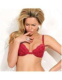 Original Wonderbra Damen Push up ++ BH 7089136 Farbe Rot